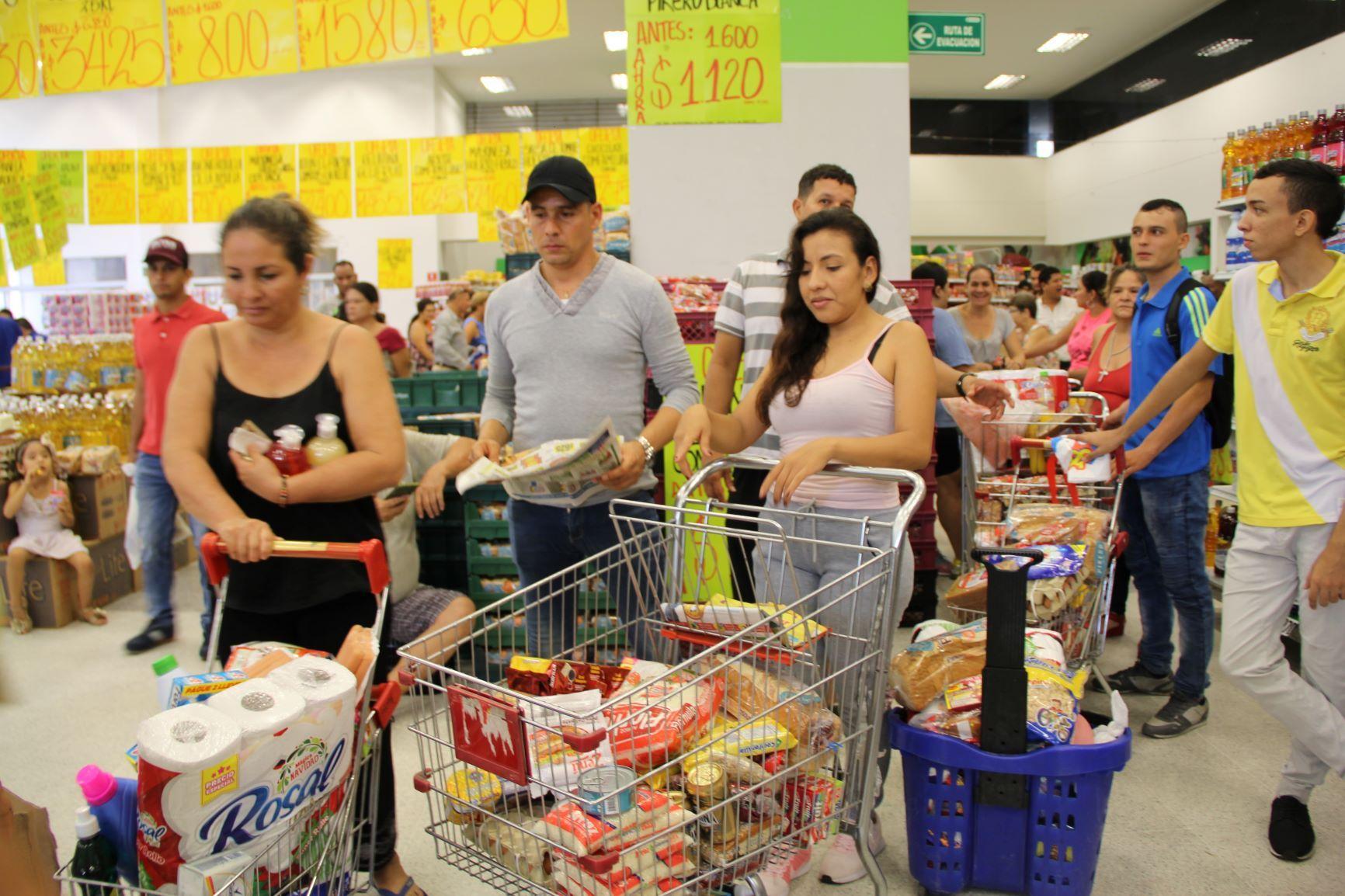 Neiva, la ciudad donde los hogares incrementaron más el consumo