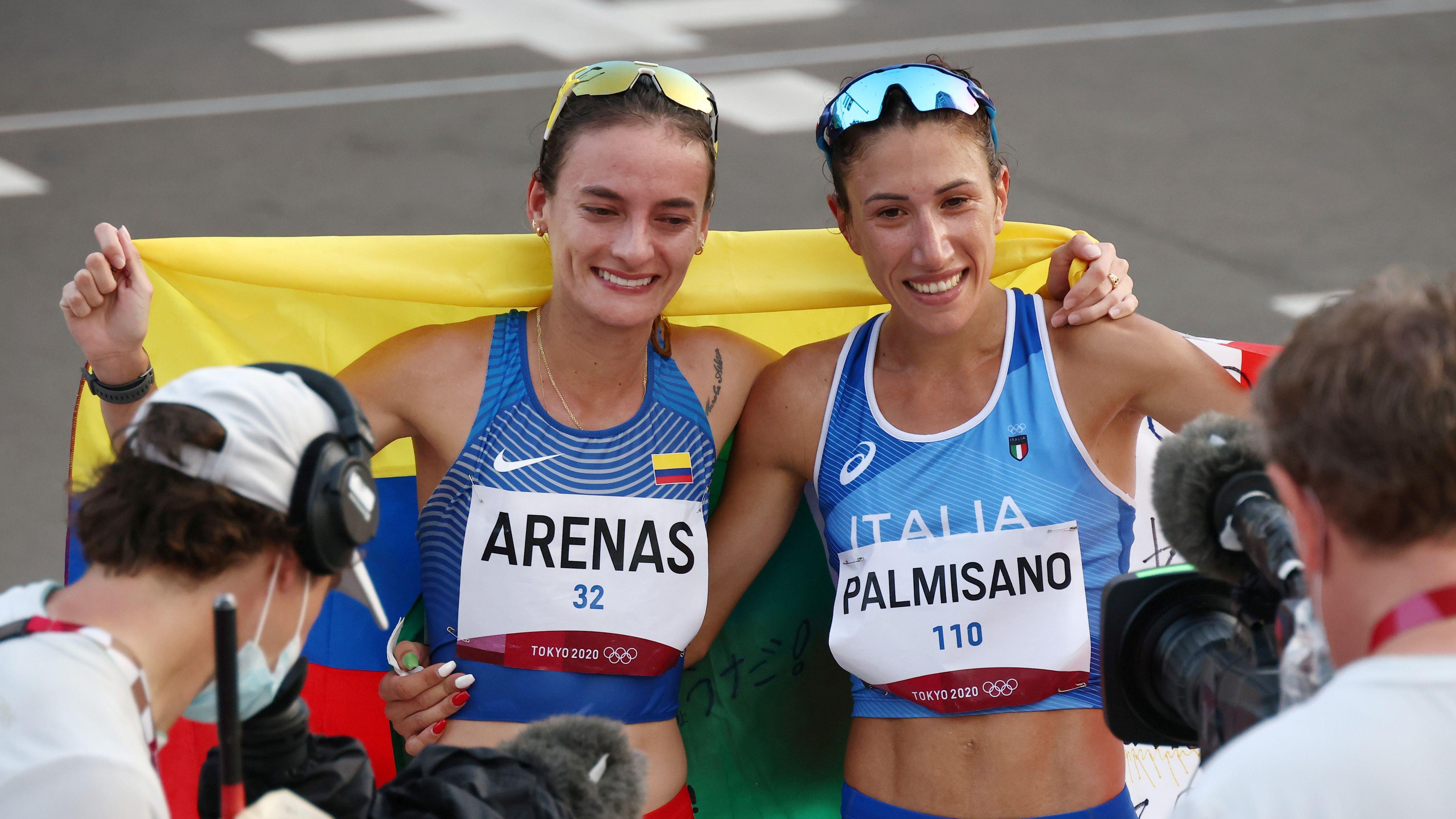¿Por qué no le entregaron la medalla a Sandra Arenas en marcha de los Olímpicos?