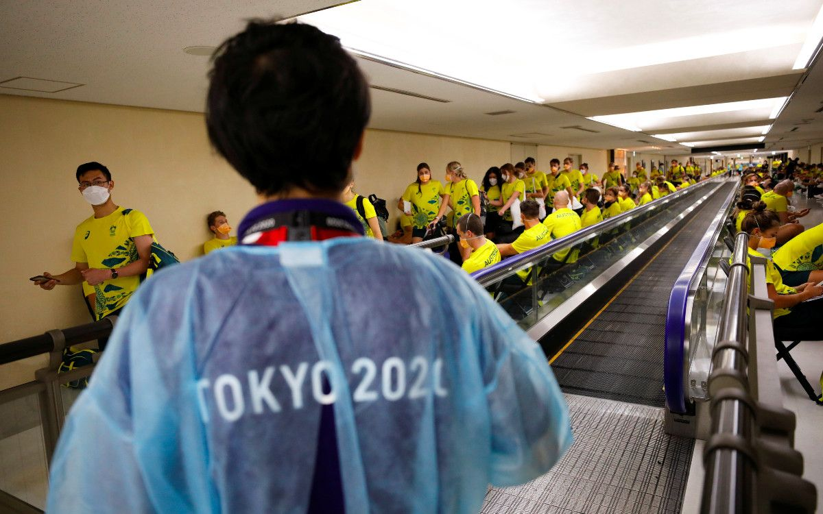 Récord de casos de coronavirus en Tokio, en plenos Juegos Olímpicos