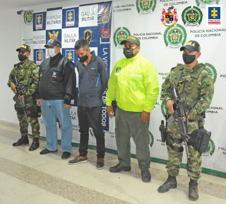 Capturados dos hombres vinculados con homicidios en Neiva