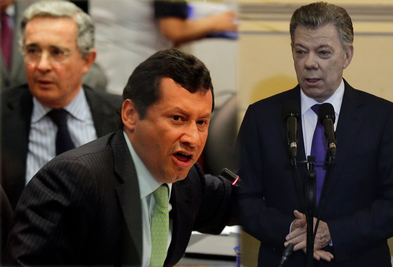 'Uribe no sabía sobre el montaje de Monsalve y Santos'