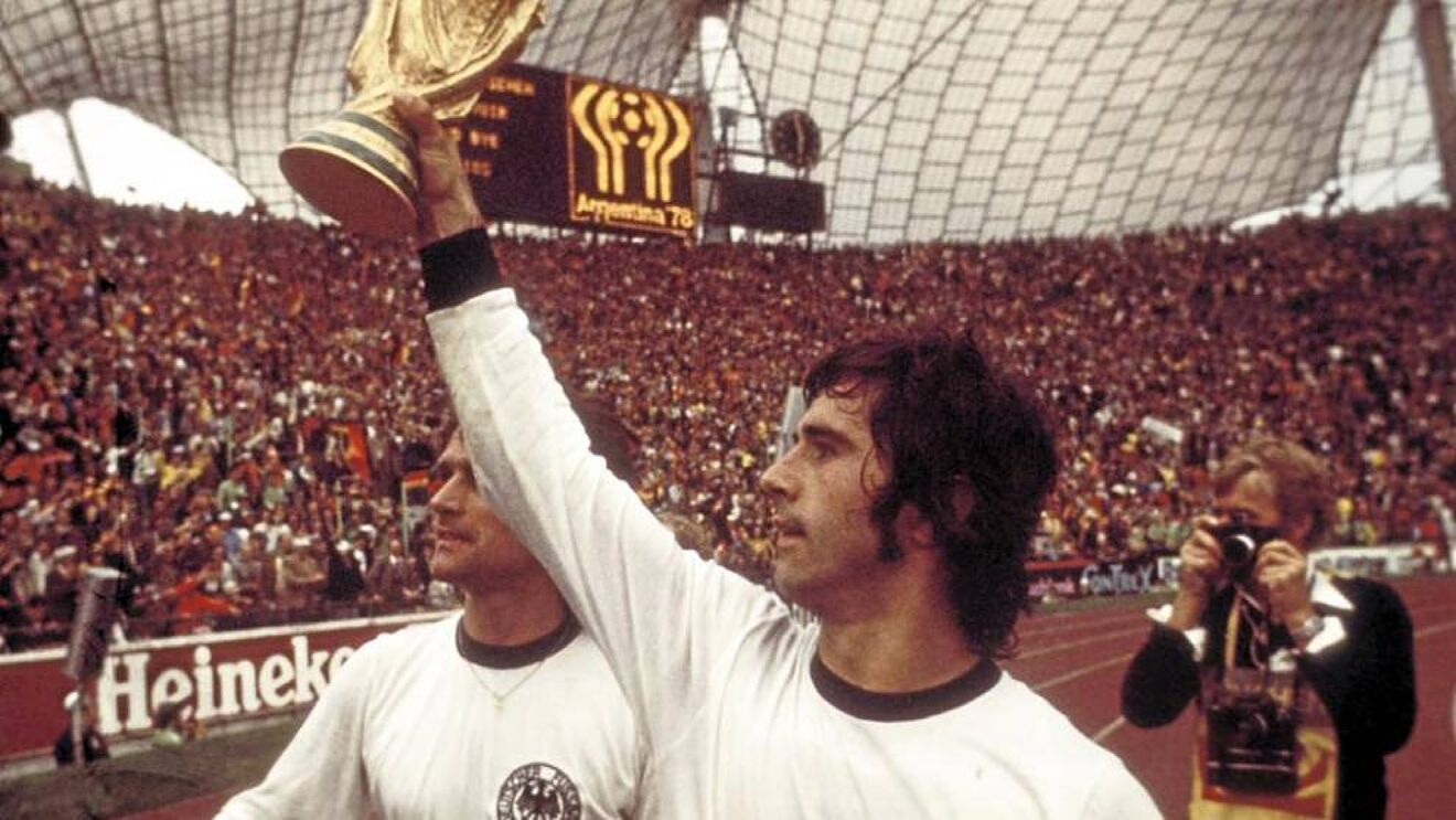 Falleció Gerd Müller, goleador leyenda del fútbol alemán