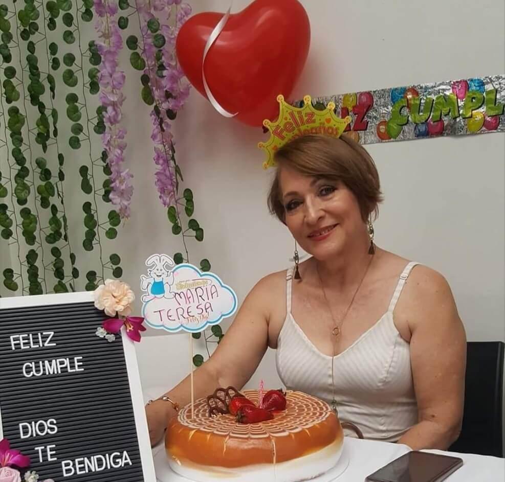 De celebración de María teresa Salazar