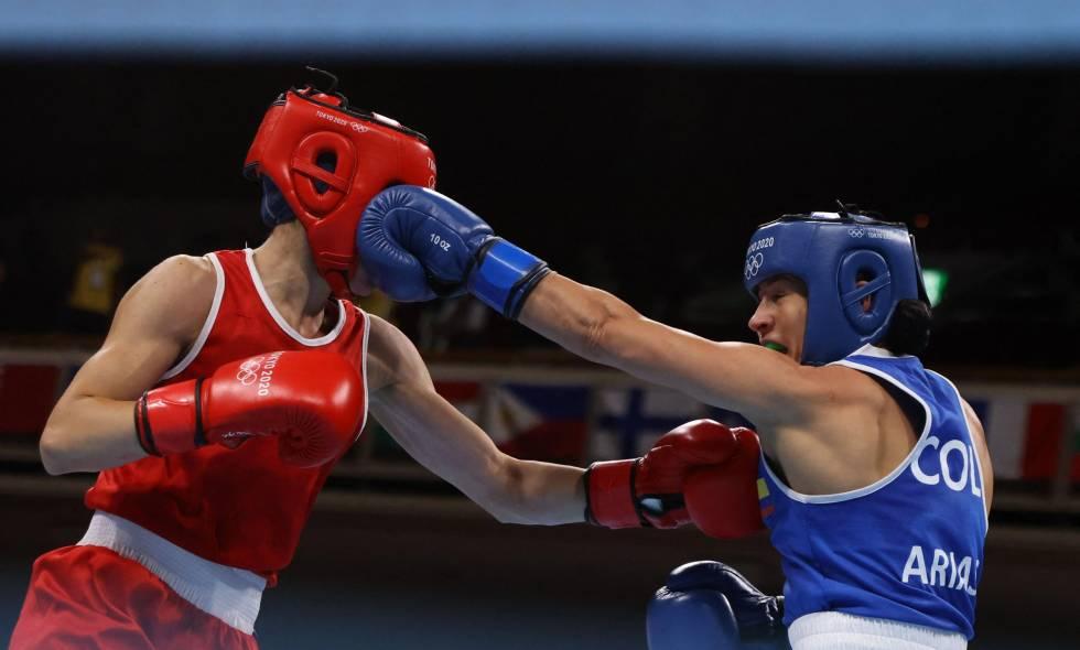 Jenny Arias avanzó a cuartos de final del boxeo en los Juegos Olímpicos