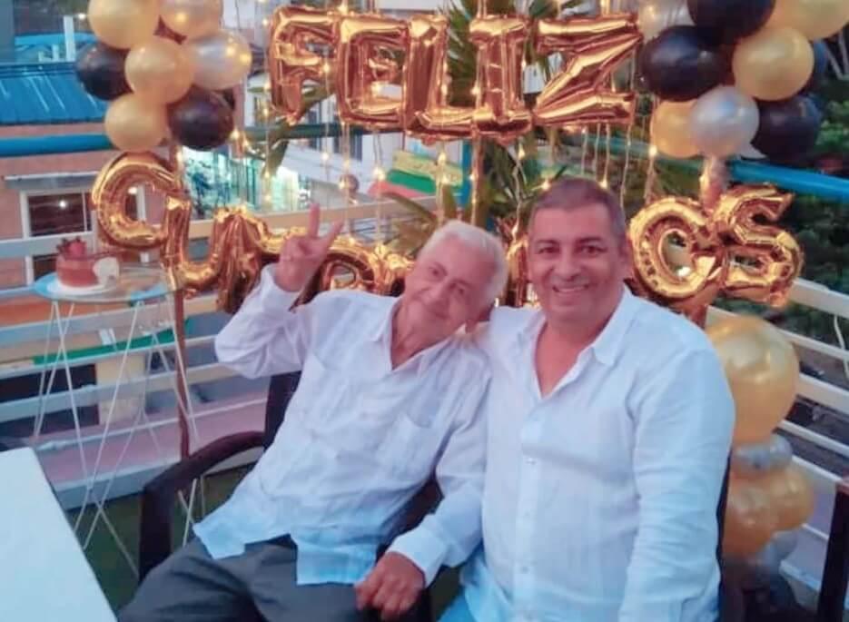Celebrando un año más de vida Humberto Ortiz