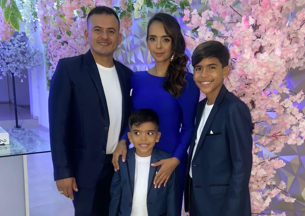 Aniversario de boda de Jenny Cabrera