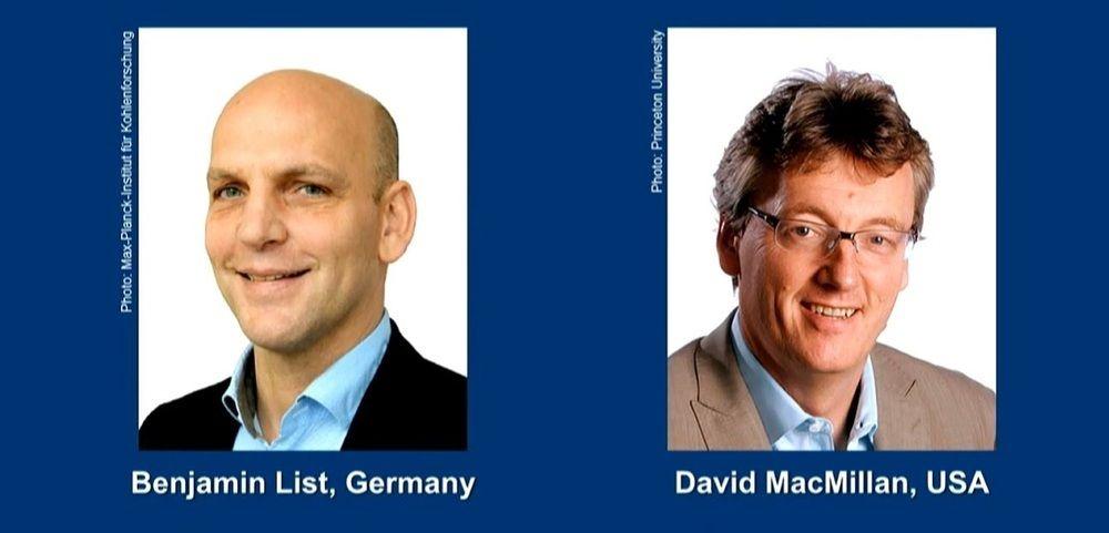 Anuncian Premio Nobel de Química 2021