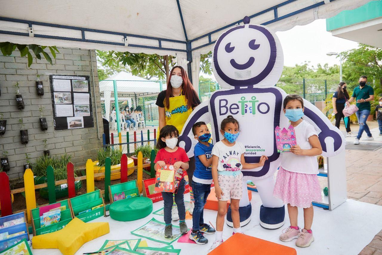 BETTO atiende por primera vez a más de 217.000 niñas y niños del ICBF