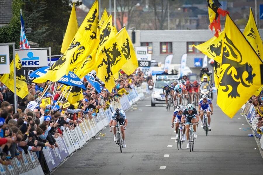 Cuatro colombianos competirán hoy en el Mundial de Ciclismo de Flandes