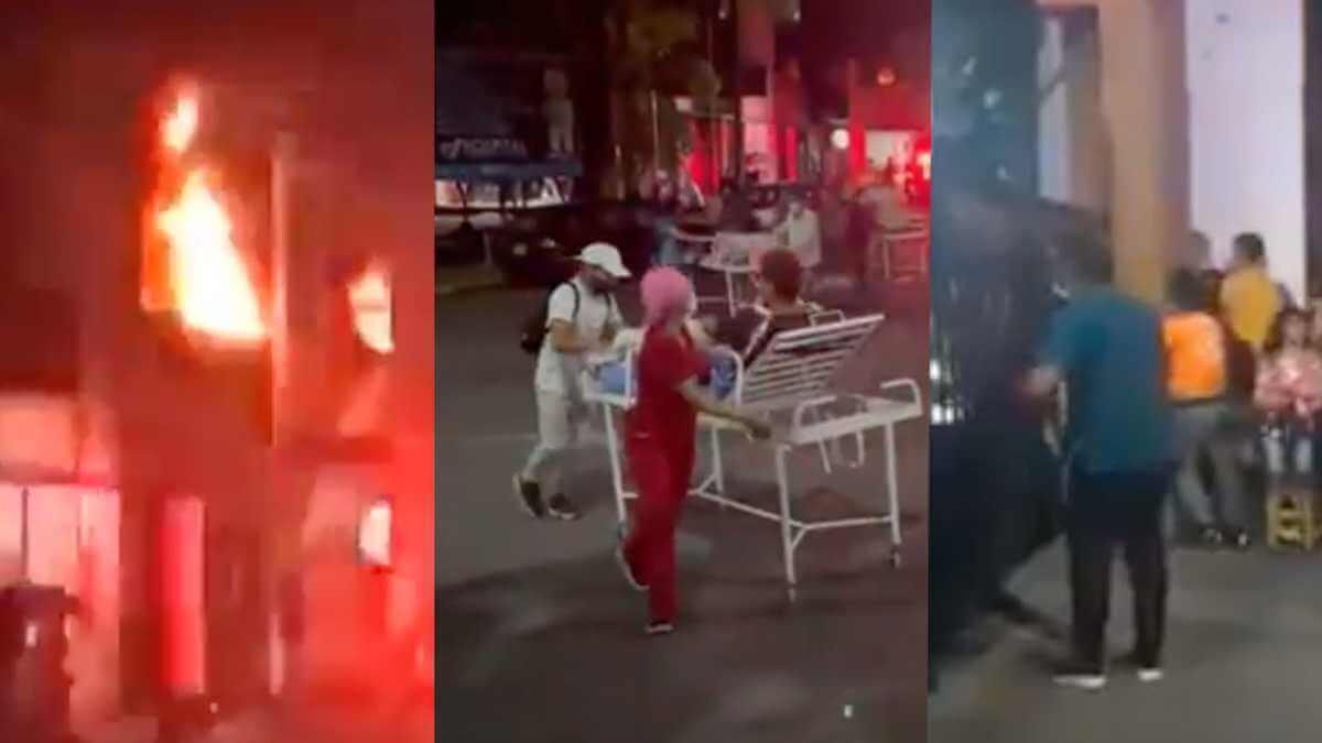 Incendio en Hospital de Villavicencio obligó a implementar toque de queda y ley seca