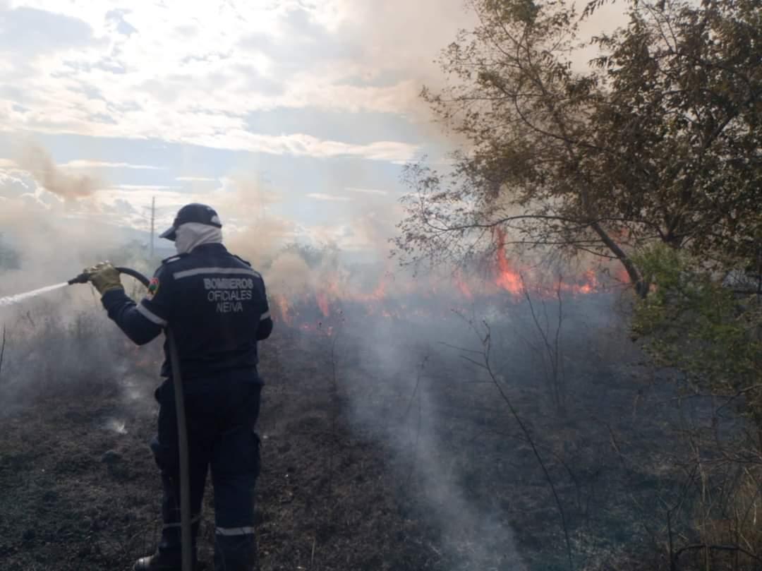 Prohíben quemas abiertas en el Huila por segunda temporada seca del año