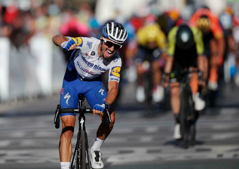 Julian Alaphilippe, el francés con dos títulos mundiales de ruta