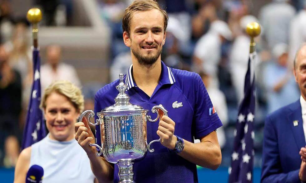 Medvebed ganador de la final del US Open