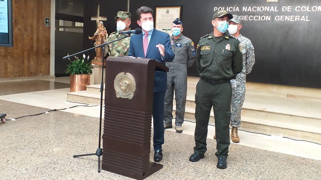 Gobierno insiste que ataque contra Duque se planeó desde Venezuela
