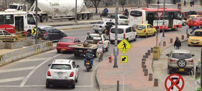 Cifras de mortalidad por accidentes de tránsito en Colombia