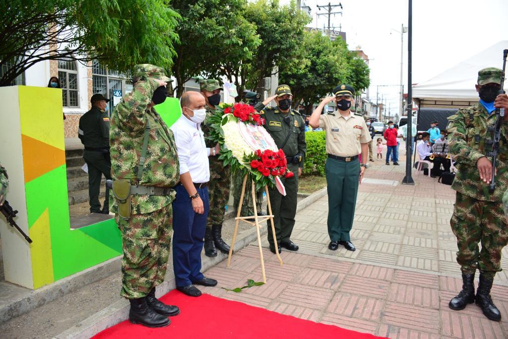 En La Plata se celebró el día de los Héroes de la Nación Caídos en Acción