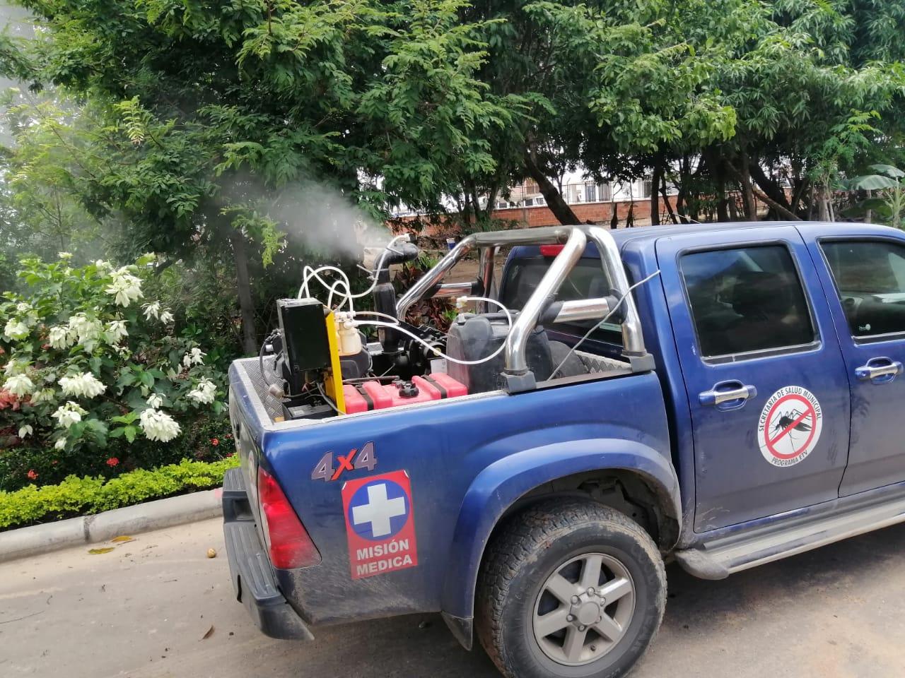Neiva zona de seguridad para el Dengue