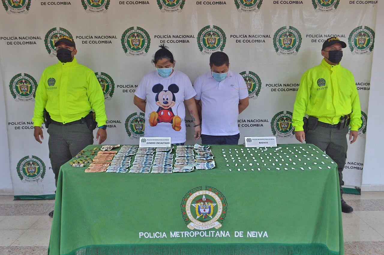 Presunto de expendio de drogas fue allanado en el sur de Neiva