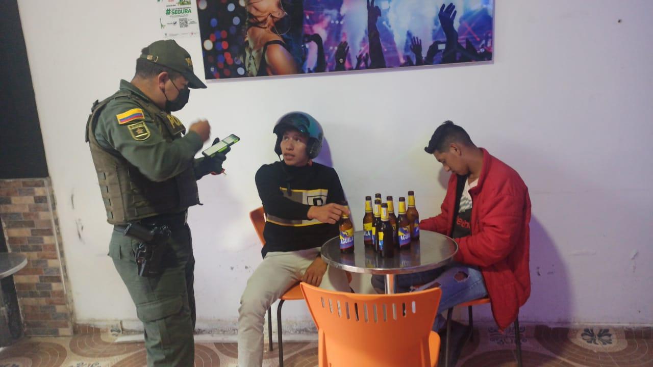 18 personas capturadas durante el fin de semana en el Huila
