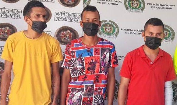 Capturados con cripy, bazuco y cocaína en Campoalegre