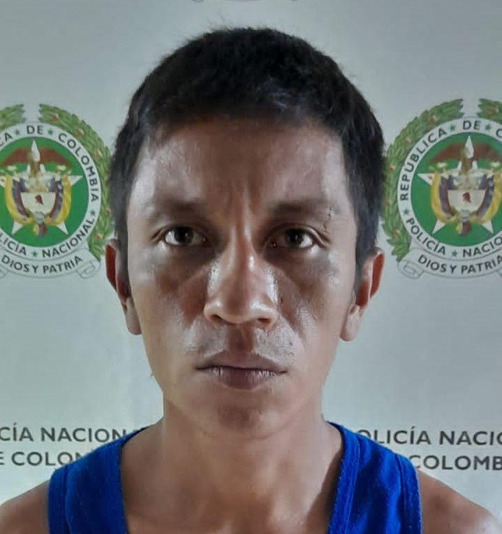 """Alias """"cholo"""" capturado por desplazamiento forzado en Campoalegre"""