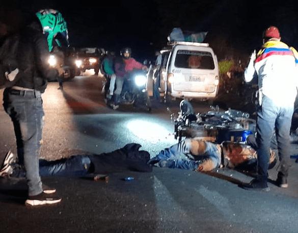 Invasión de carril cobró la vida de una persona en la vía Pitalito-Garzón