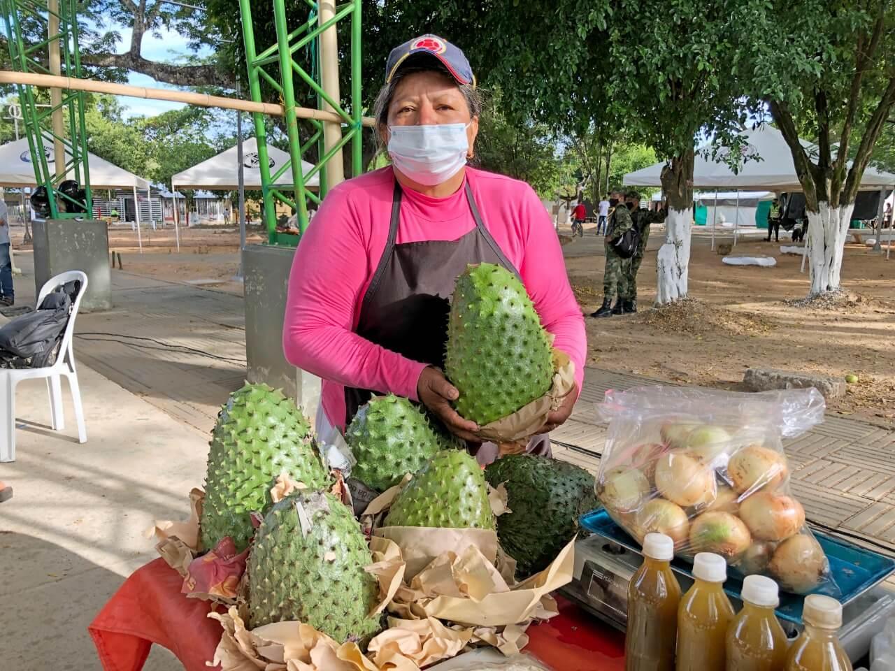 Se reactivó el mercado campesino en el corregimiento El Caguán