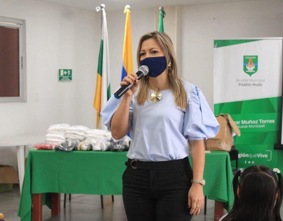 Maribel Suárez Burgos, una Gestora Social que trabaja por mejorar la calidad de vida de las familias vulnerables