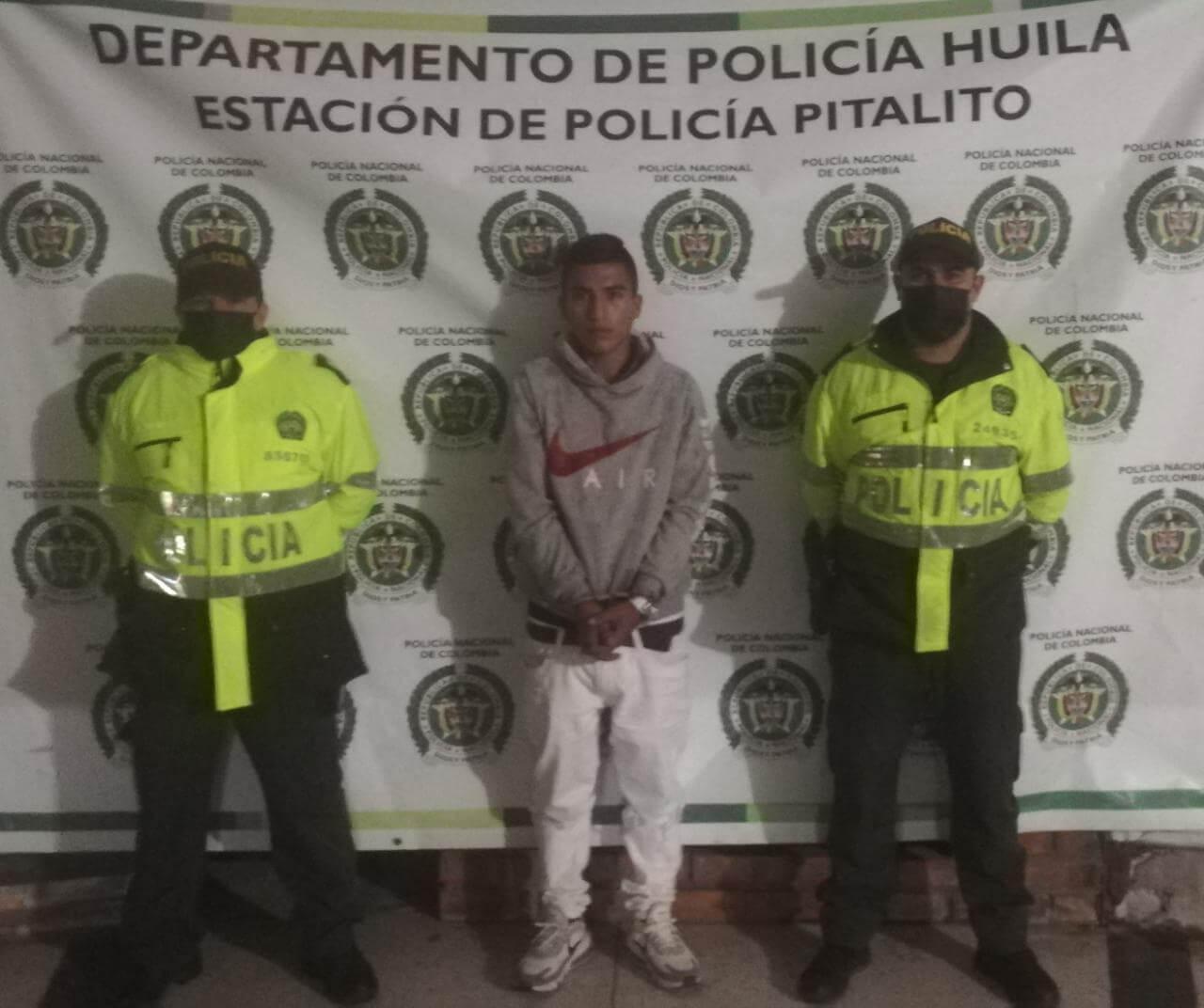 Asesinó a un adolescente de 14 años en Pitalito