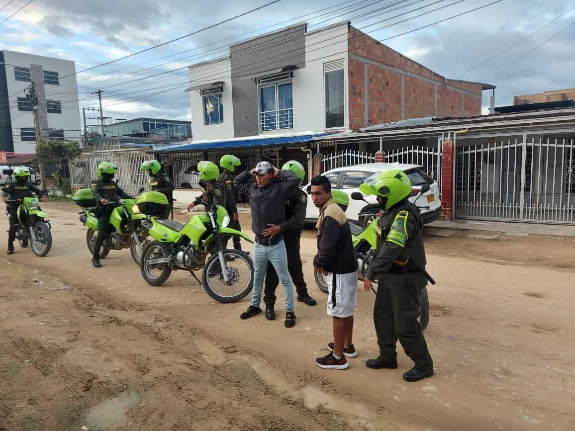 18 personas capturadas en Pitalito
