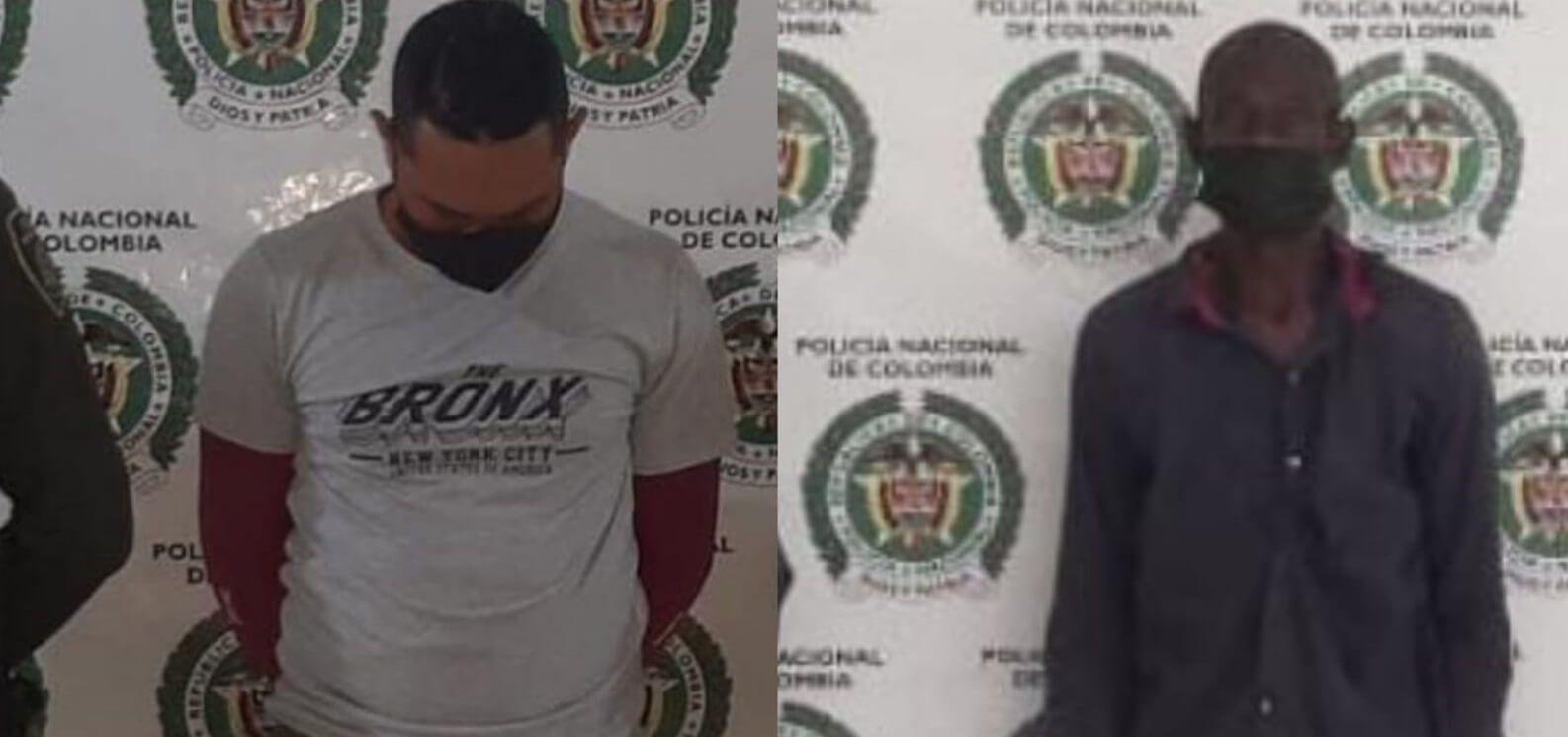Dos hombres fueron capturados en Pitalito