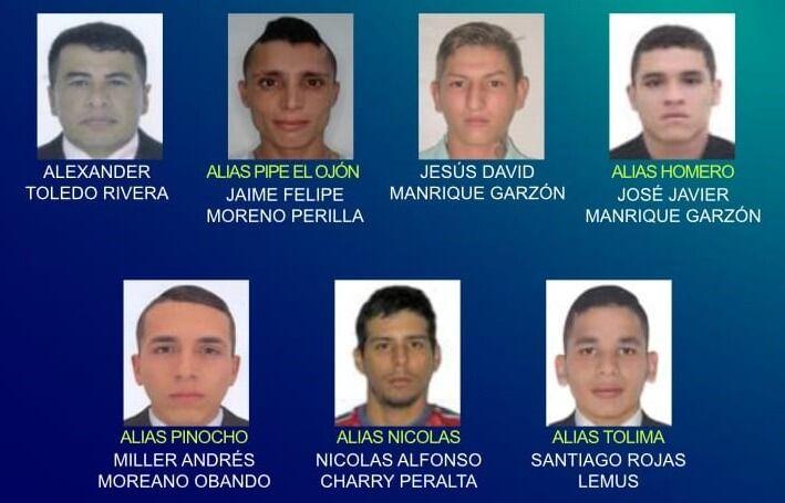 Conozca el cartel de los más buscados por homicidio en Neiva