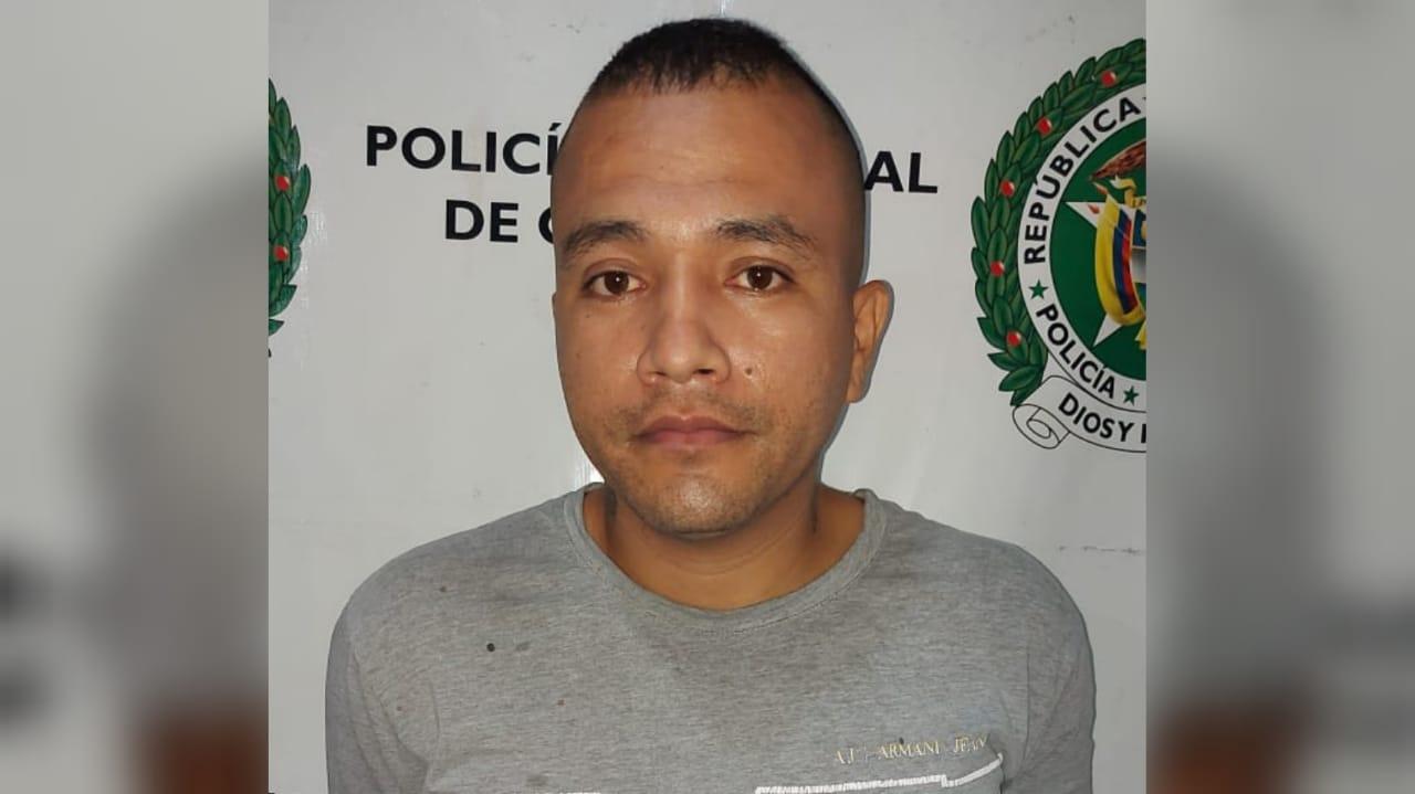 Este hombre fue detenido por hurto en Neiva