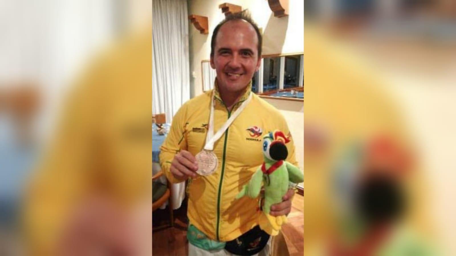 Pablo, deportista en condición de discapacidad que brilla con luz propia