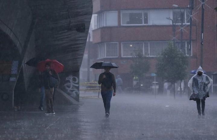 Ideam advierte sobre aumento de lluvias en octubre y noviembre en Colombia