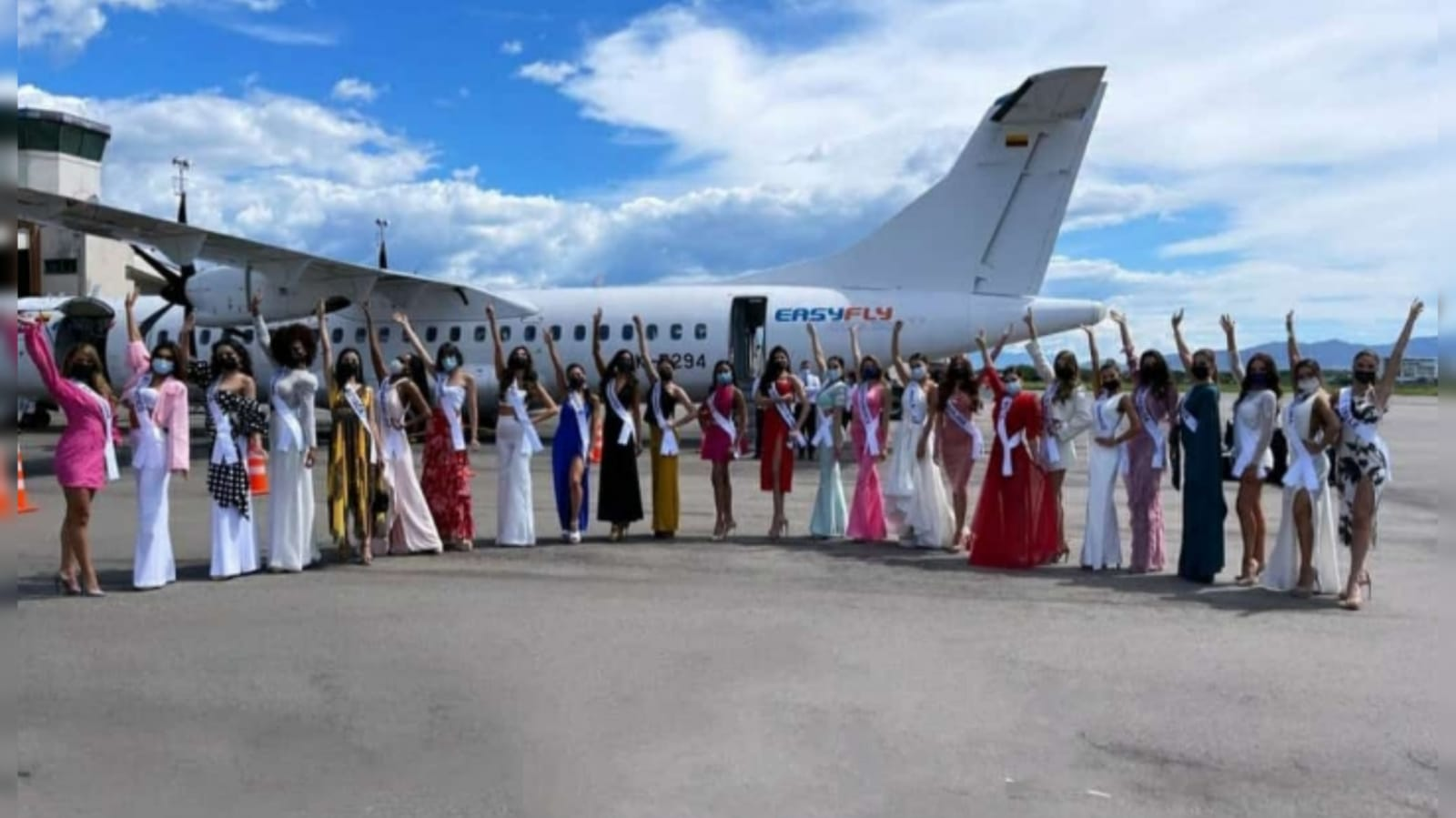 Llegada Miss Universe