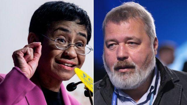 Ganadores del Premio Nobel de Paz 2021