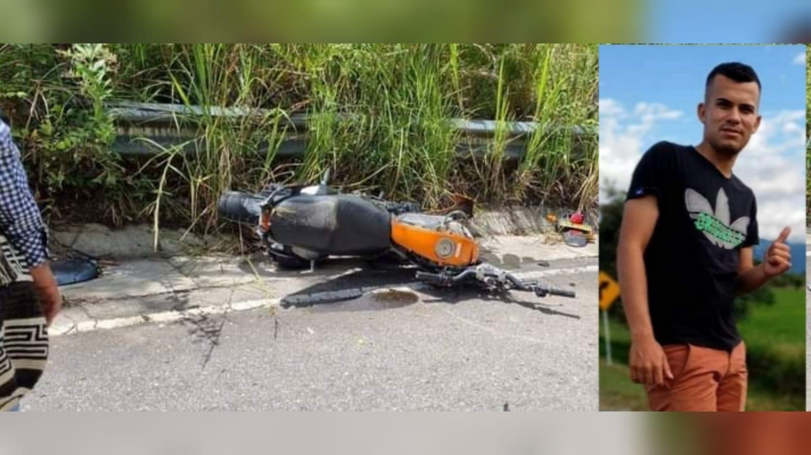 Joven murió en medio de un accidente de tránsito