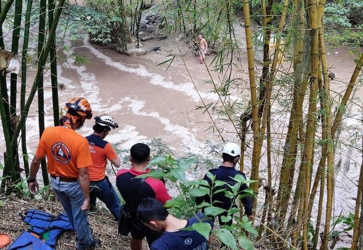 Creciente del río de Oro en Santander generó emergencia