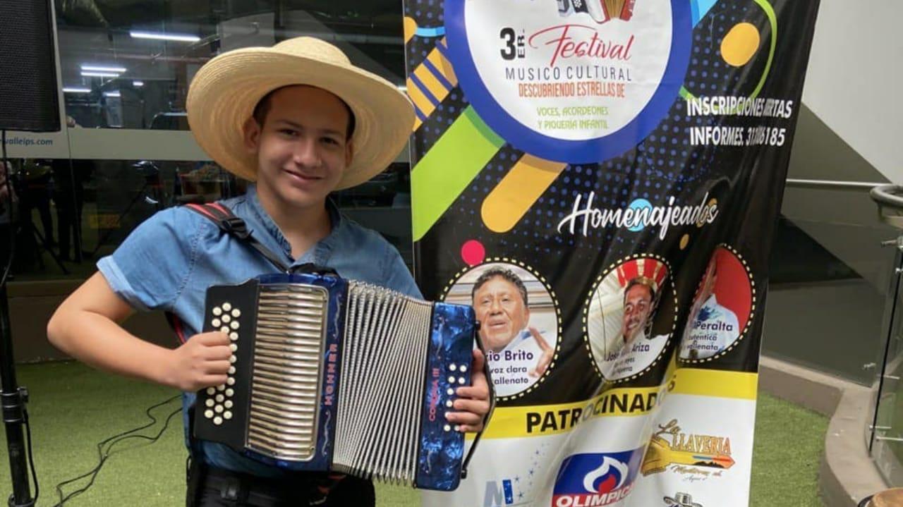 Representará al Huila en el Festival de la Leyenda Vallenata