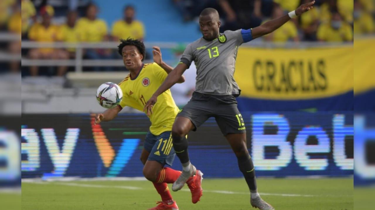 El VAR protagonista del empate entre Colombia y Ecuador