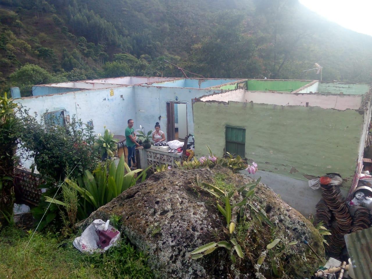 Municipios del Huila afectados por las lluvias