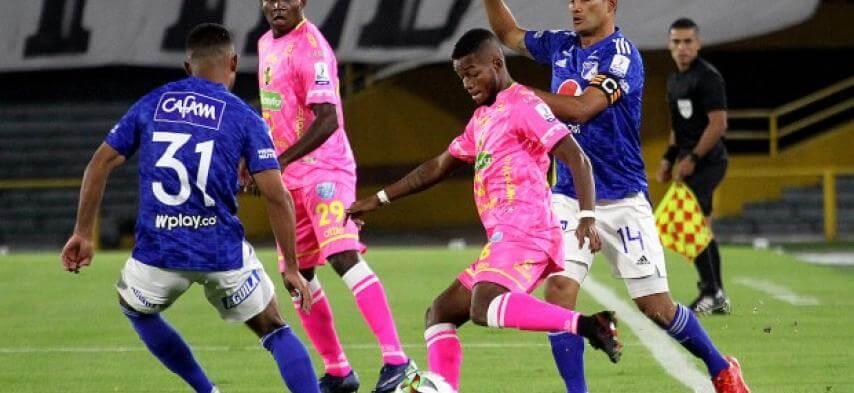 Alianza Petrolera eliminó a Millonarios de la Copa Colombia