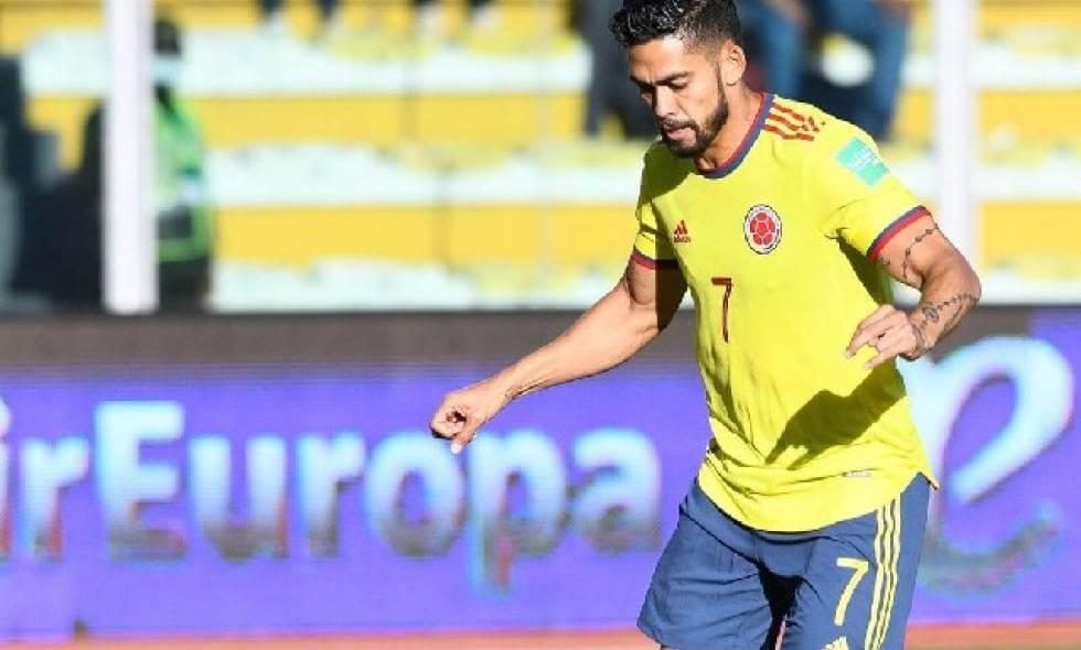 Andrés Andrade, desconvocado de la Selección Colombia