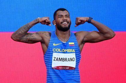 Después de los Juegos Olímpicos, Anthony Zambrano la tiene clara: «París 2024 es el objetivo»