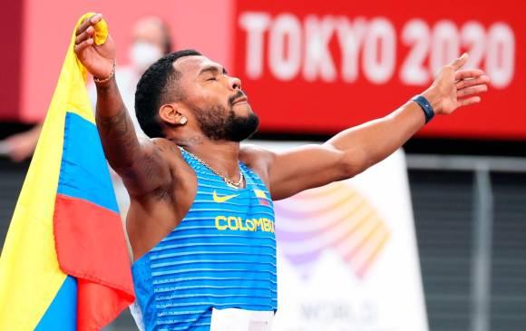 Medalla de plata para Anthony Zambrano en los 400 m de Tokio