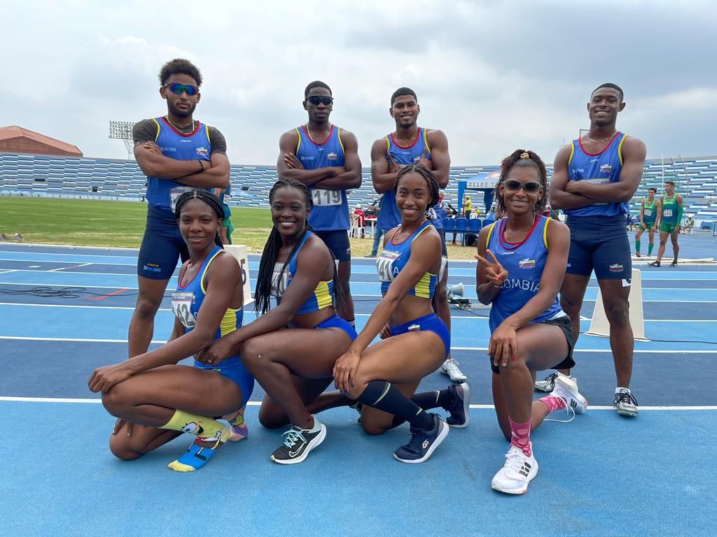 Colombia ganó 20 medallas en Suramericano de Atletismo