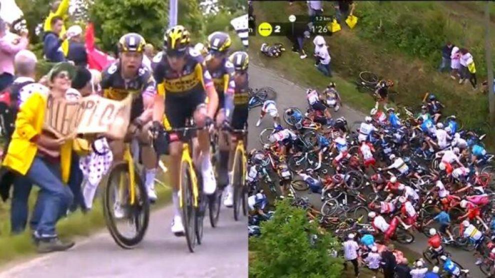 Aficionado que provocó caída en el Tour de Francia va a juicio
