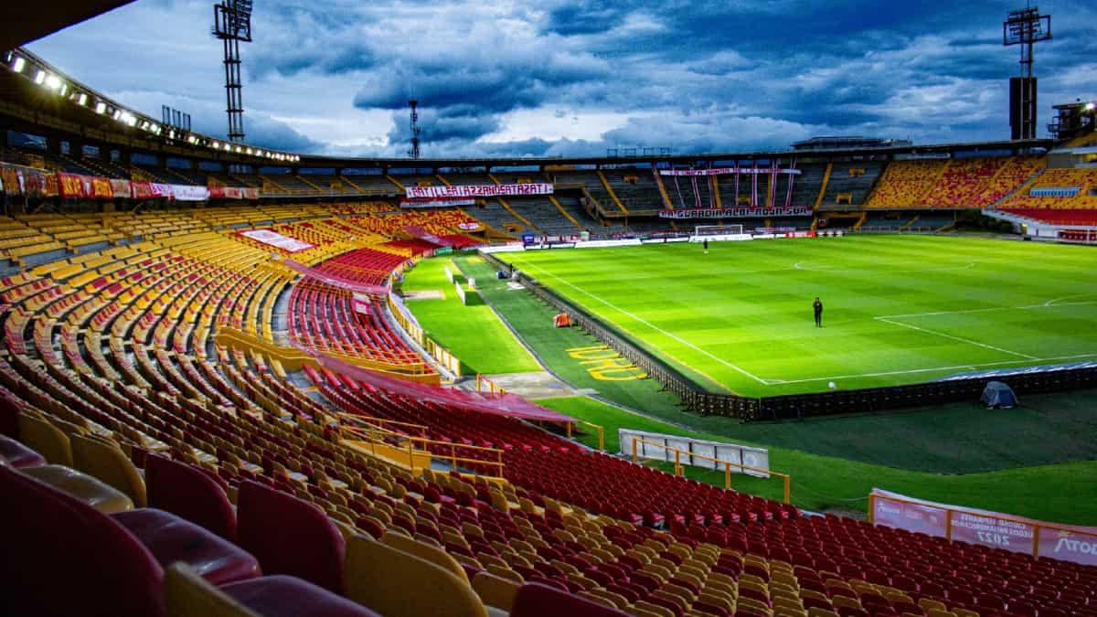 Así fue el regreso del público al estadio El Campín