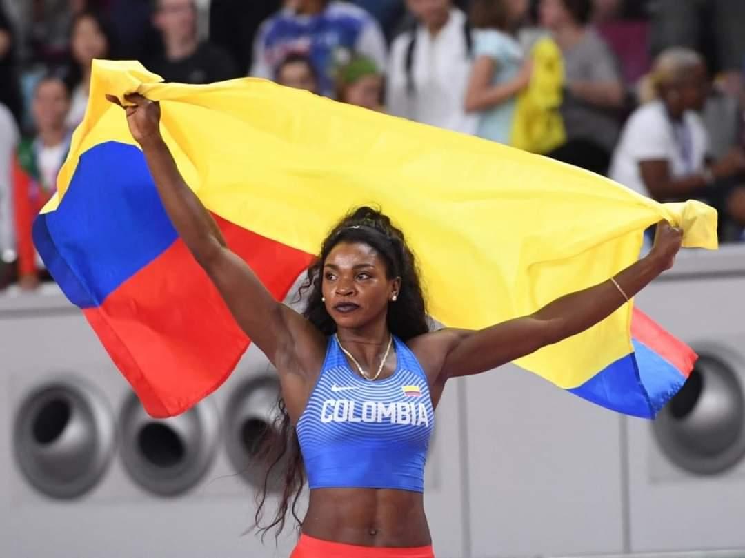 Caterine Ibargüen, triple salto de despedida en los Olímpicos de Tokio